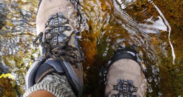 Botas impermeáveis x Botas impermeáveis-respiráveis x Botas comuns