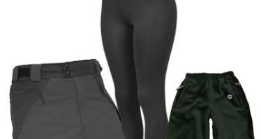 Diferenças entre as calças outdoor