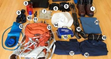 Como escolher equipamentos de camping e trilha