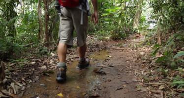 O peso das botas de trilha é importante?
